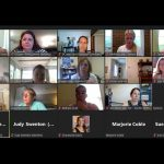Screenshot of SEB Leader Academy participants attending the August virtual session.