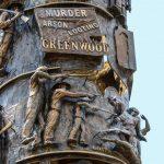 Statue marking the 1921 Tulsa Massacre.